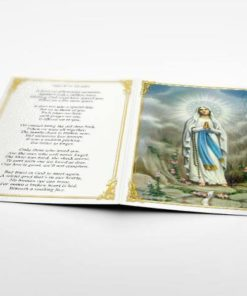 memorial card Mary Magdalene