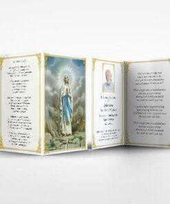 memorial card Mary Magdalene