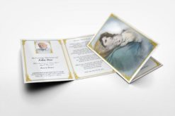 Memorial Card Saint Mary and Baby Jesus