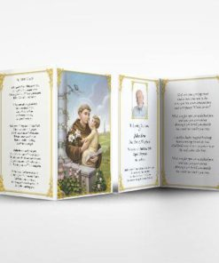 Memorial Card Saint Anthony
